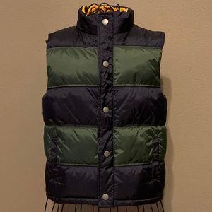 Boy's Zip-Up Puffer Vest Jacket  7-8T